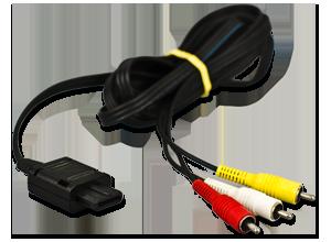 original n64 3 cinch 3 cinch chinch kabel nintendo 64 ebay. Black Bedroom Furniture Sets. Home Design Ideas