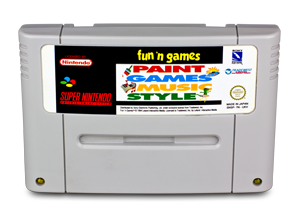 How to make music with a SNES console? Software in cartridge